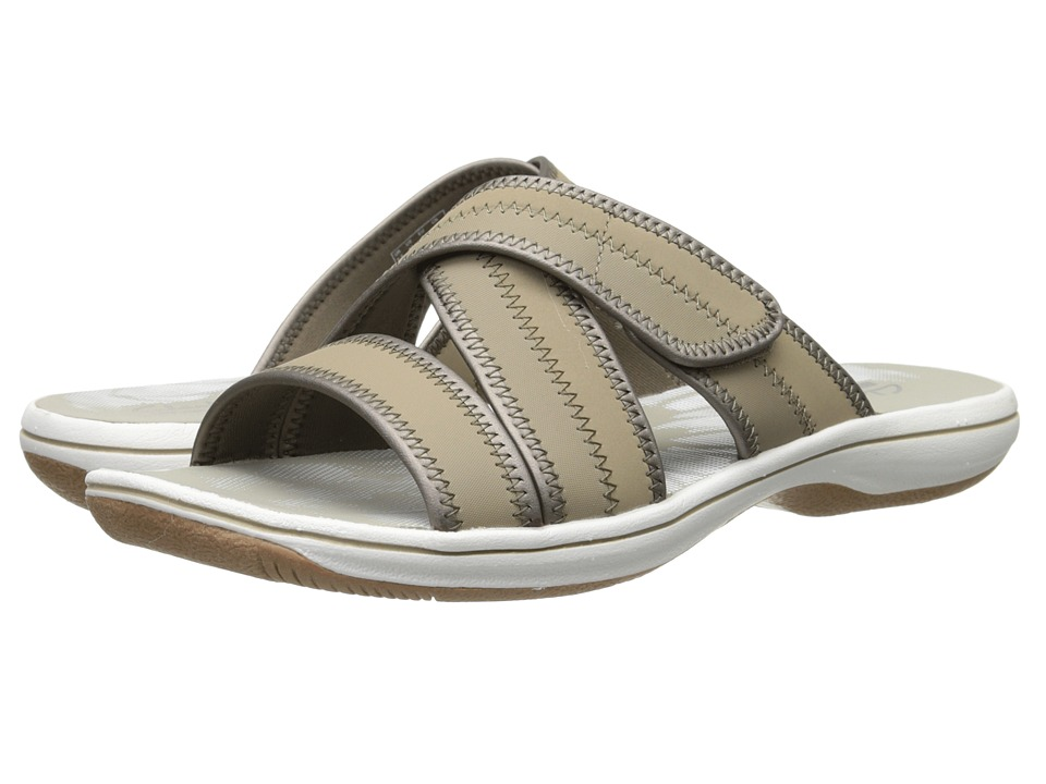 Clarks - Brinkley Arney (Greystone Synthetic) Women's Sandals