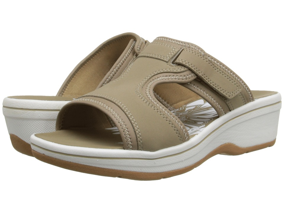 Clarks - Daisy Harp (Greystone Synthetic) Women's Sandals