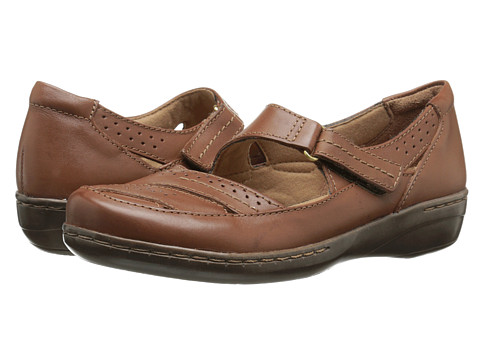 Clarks - Evianna Date (Tan Leather) Women