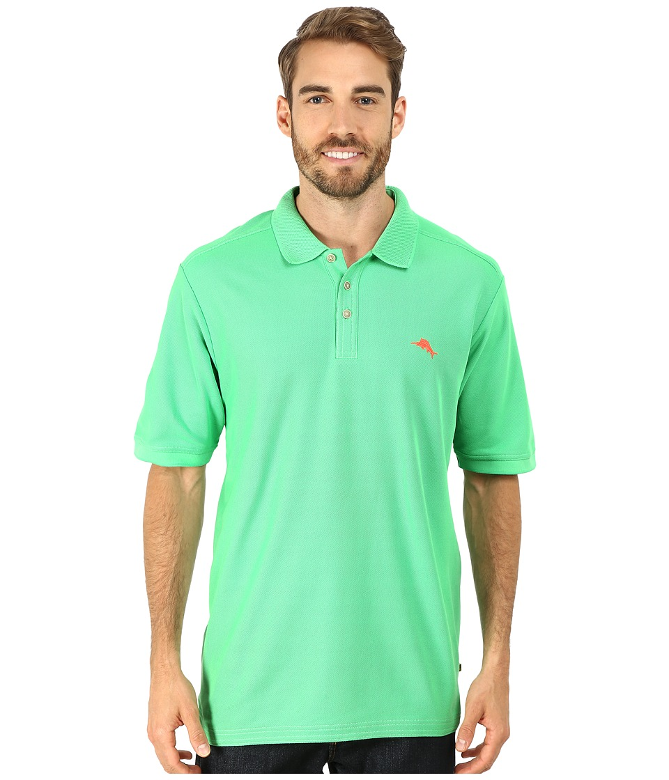 Tommy Bahama - The Emfielder Polo Shirt (Dublin Green) Men's Short Sleeve Pullover
