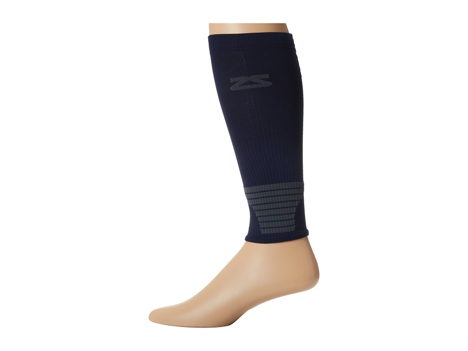 Zensah - Ultra Compression Leg Sleeves (Navy) Athletic Sports Equipment