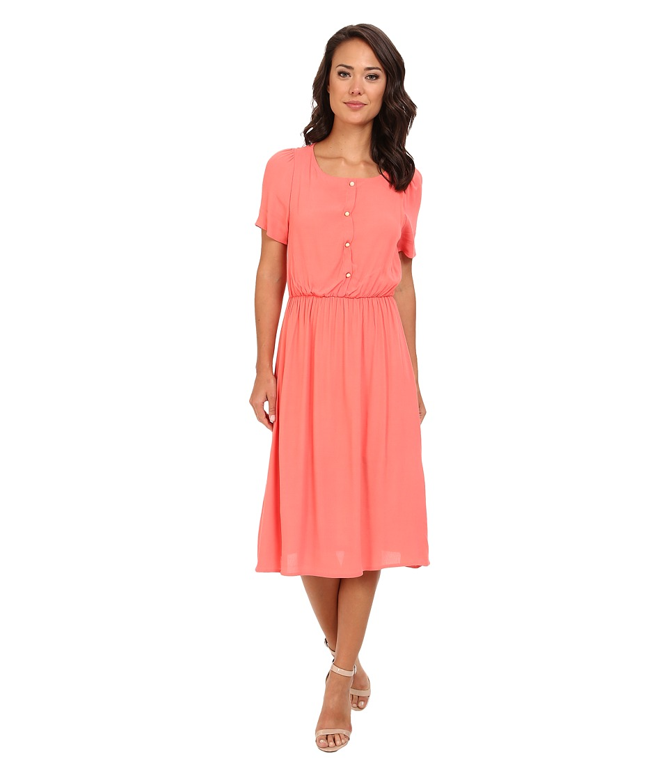 rsvp - Carlin Dress (Coral) Women