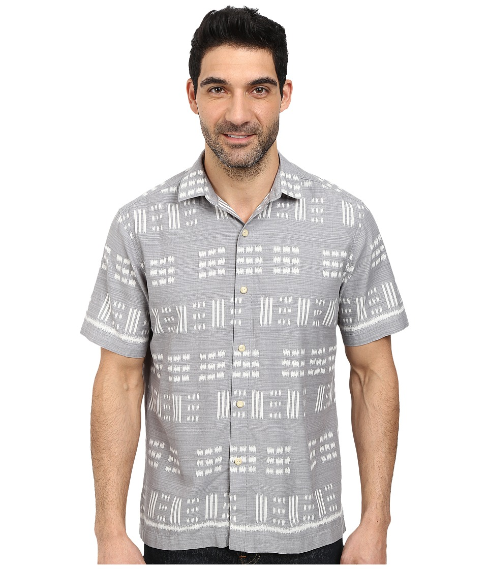 Tommy Bahama - Capri By The Sea S/S (Shadow) Men's Short Sleeve Button Up