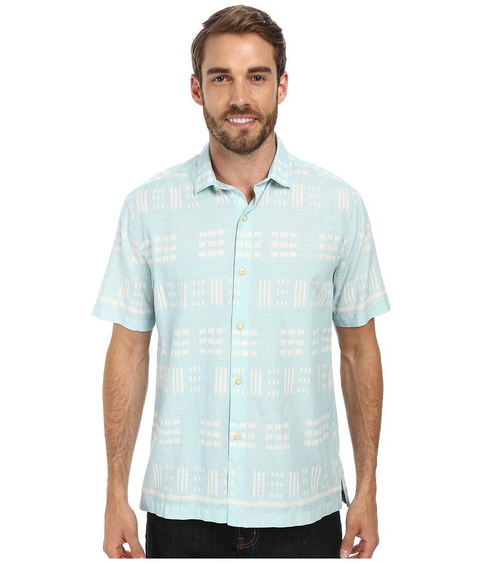 Tommy Bahama - Capri By The Sea S/S (Whisper) Men's Short Sleeve Button Up