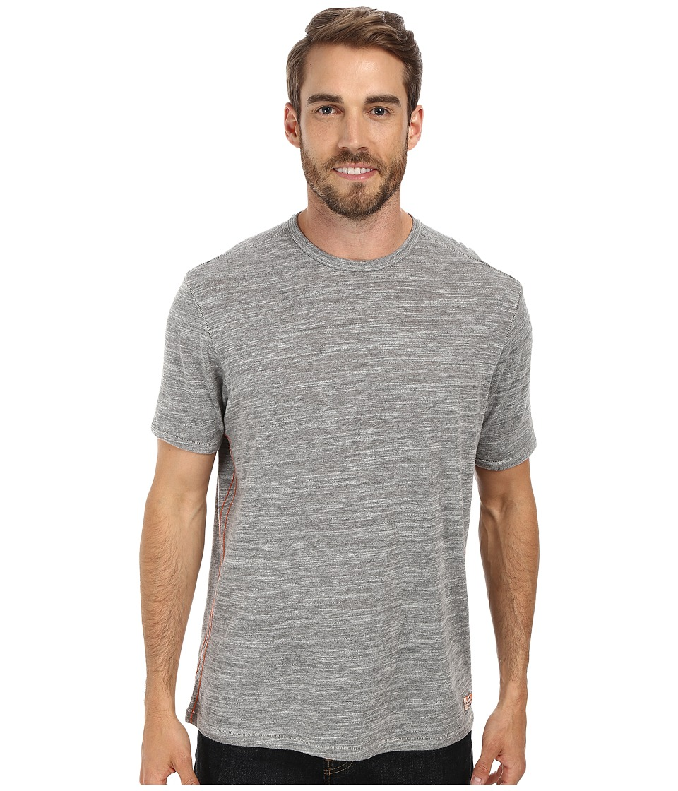 Tommy Bahama - Sundays Best Crew (Grey Heather) Men's T Shirt