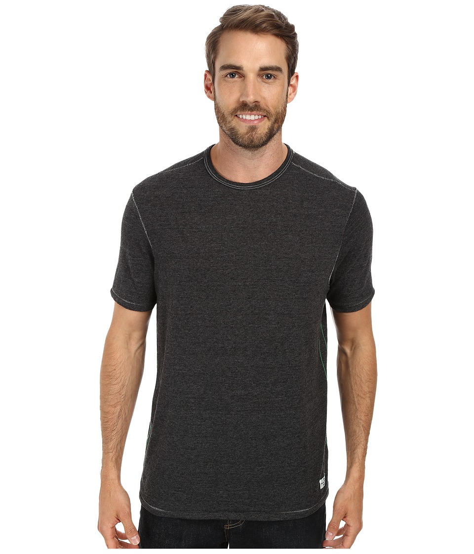 Tommy Bahama - Sundays Best Crew (Charcoal Heather) Men's T Shirt