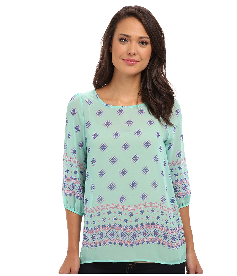 rsvp - Electra Top (Mint) Women's Clothing