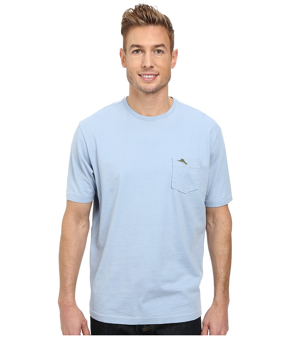 Tommy Bahama - New Bali Sky Tee (Fluid Blue) Men's Short Sleeve Pullover