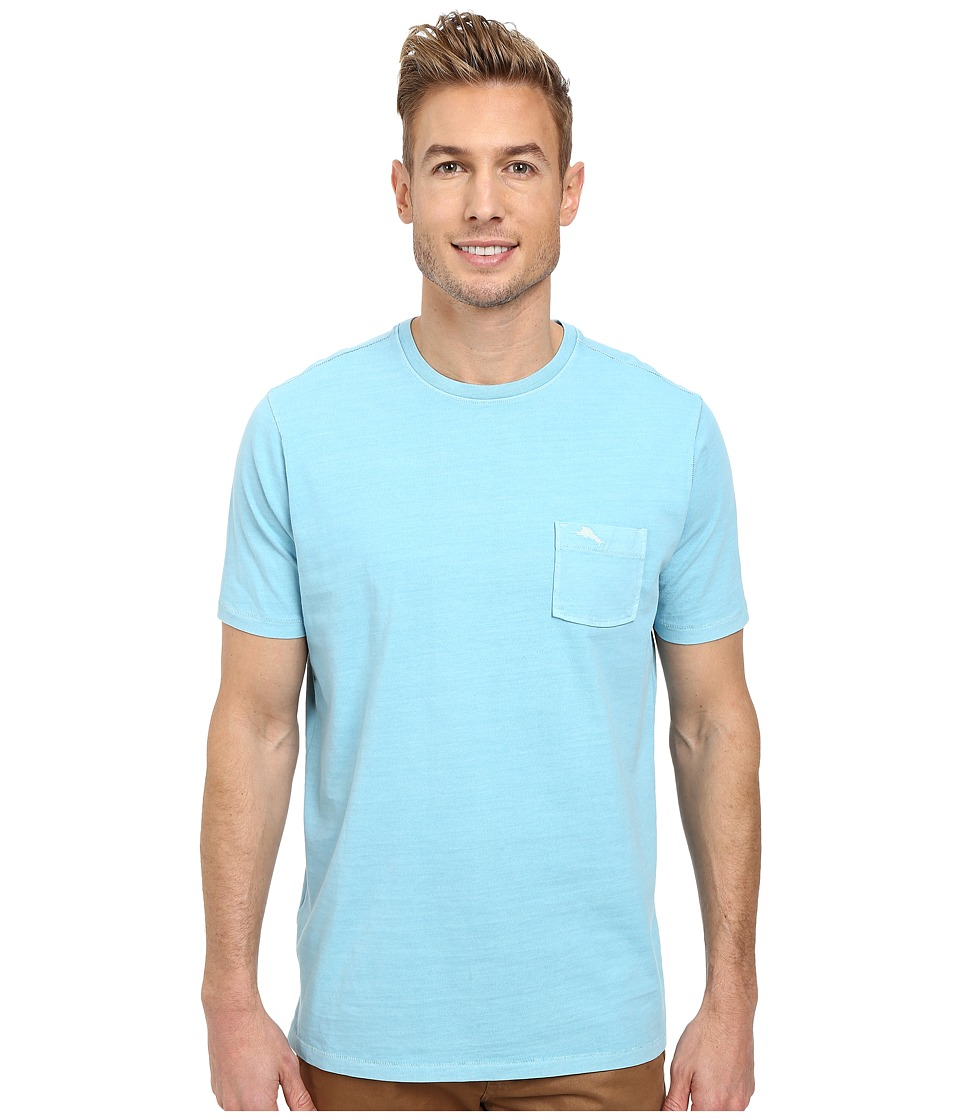 Tommy Bahama - New Bahama Reef Crew (Arroyo Blue) Men's T Shirt