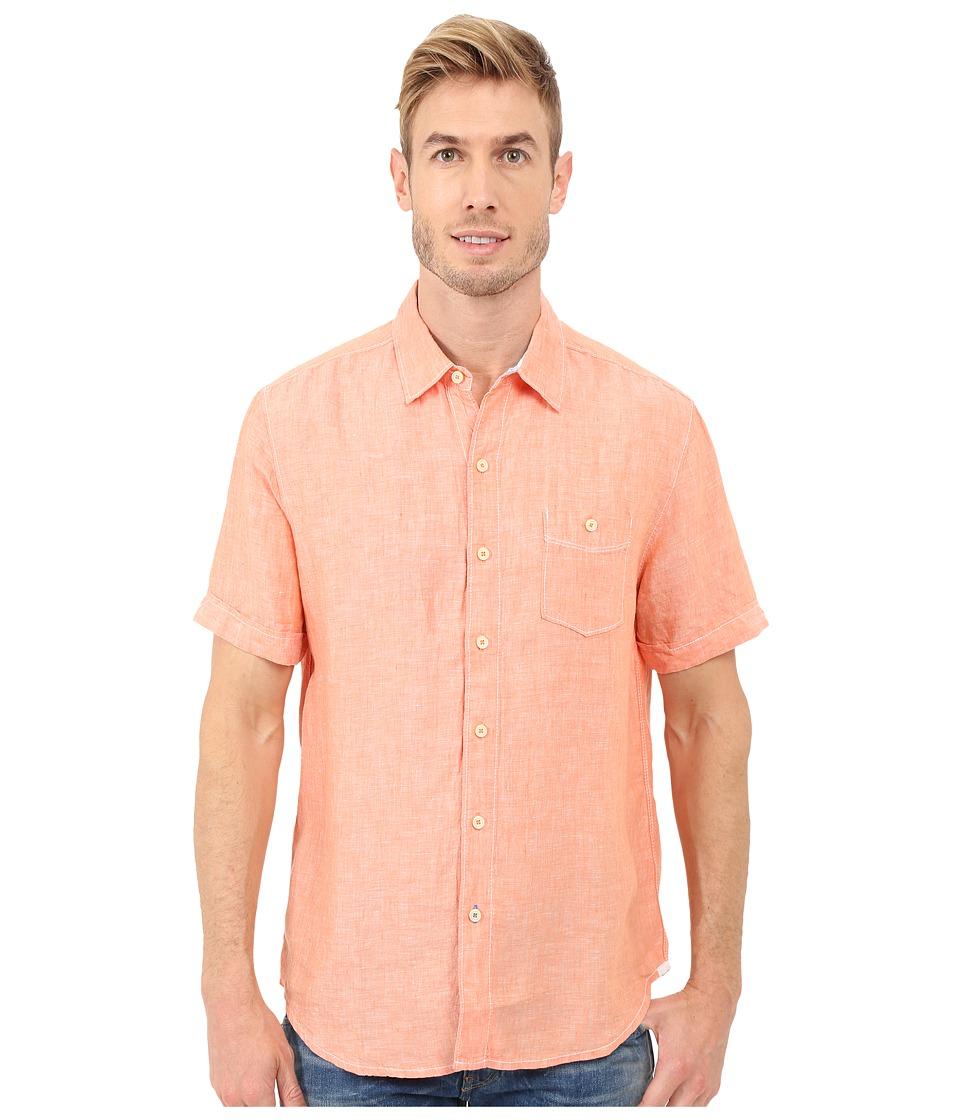 Tommy Bahama - Party Breezer S/S (Citrus Sun) Men's Short Sleeve Button Up