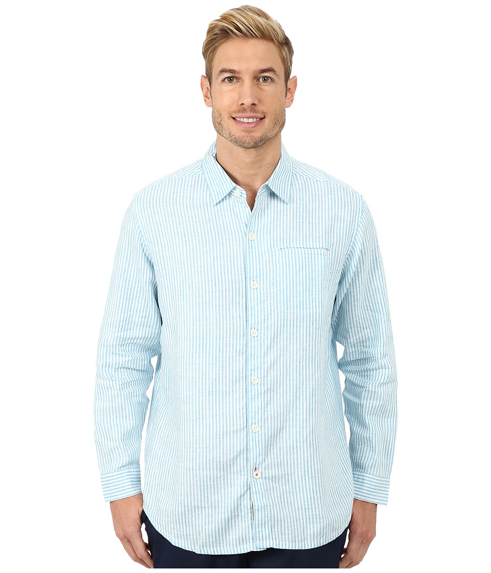 Tommy Bahama - Paloma Beach Breezer Shirt (Arroyo Blue) Men's Clothing