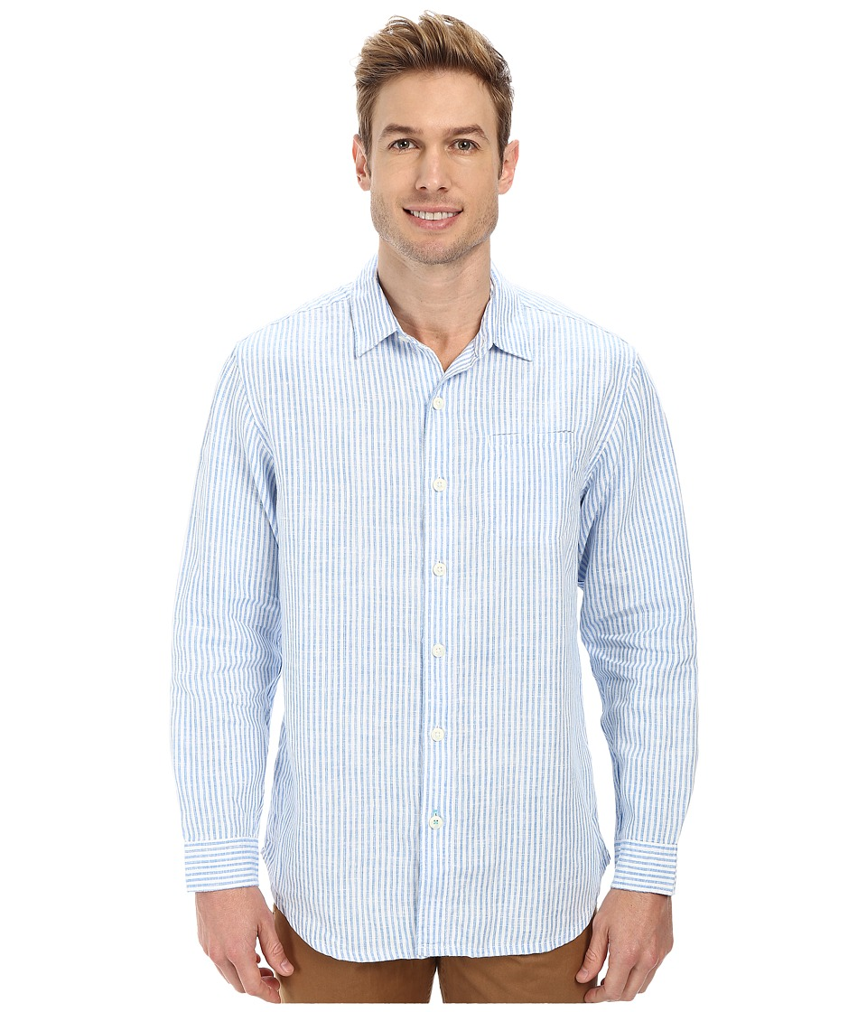 Tommy Bahama - Paloma Beach Breezer Shirt (Blue Yonder) Men's Clothing