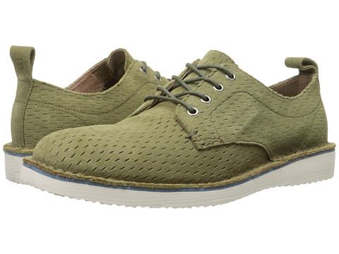 Marc New York by Andrew Marc - Baxter (Grass/White/Peacoat Suede) Men's Lace up casual Shoes