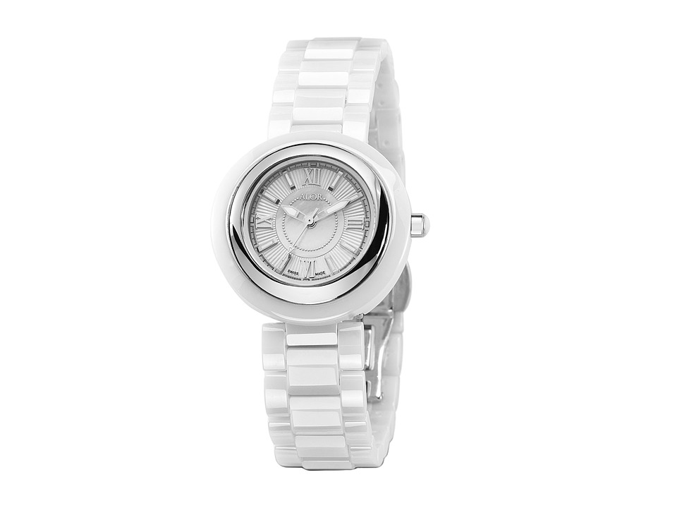 ALOR - Cavo Mini - CRW-80-0-40-1001 (White/Stainless Steel) Watches