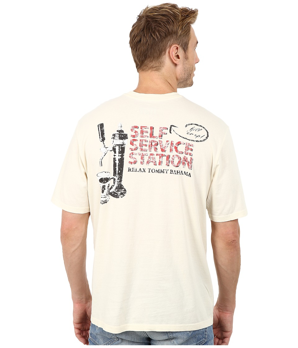 Tommy Bahama - Self Service Station Tee (Bleached Sand) Men's T Shirt