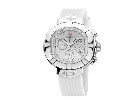 ALOR - Elitesub - SUB-80-4-15-9001 (Stainless Steel/White) Analog Watches