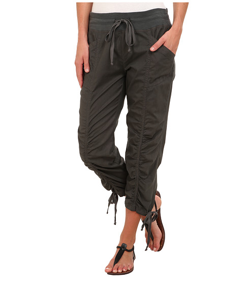 XCVI - Buckeye Rouched Crop (Shadow) Women's Casual Pants