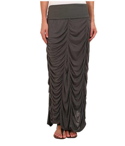 XCVI - Jersey Peasant Skirt (Shadow) Women's Skirt