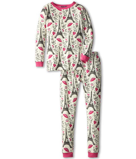 BedHead Kids - Hello Kitty Stretch L/S PJ (Big Kids) (Hello Kitty Eiffel Tower) Girl