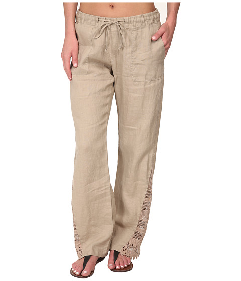 La Blanca - Linen Pants Cover-Up (Natural) Women