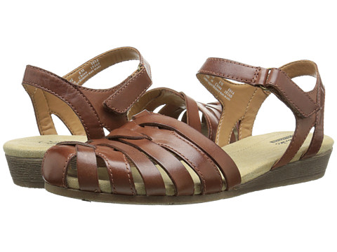 Clarks - Jaina Stafford (Tan Leather) Women's Sandals