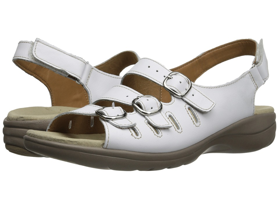 Clarks - Saylie Medway (White Leather) Women