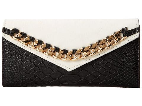 Sam Edelman - Slimfold Wallet (White) Wallet Handbags