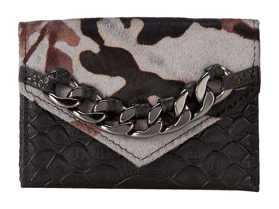 Sam Edelman - Credit Card Case 2 (Grey Camouflage) Credit card Wallet