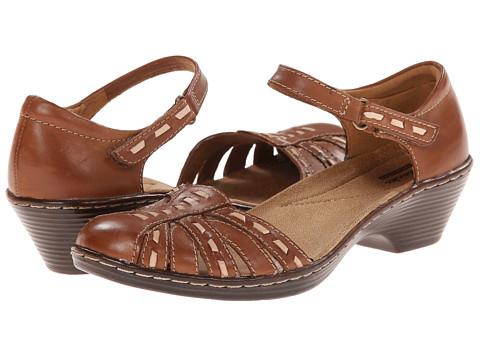 Clarks - Wendy Estate (Tan Leather) Women