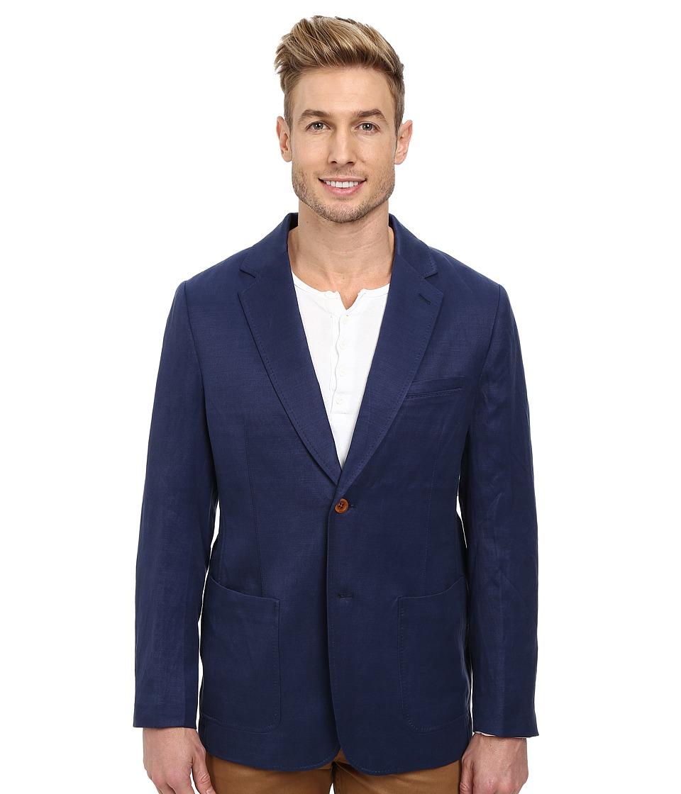 Tommy Bahama - La Jolla Linen Blazer (Maritime) Men's Jacket