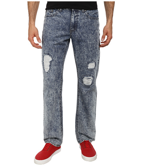 Request - Acid Wash Jeans in Vintage Acid Blue (Vintage Acid Blue) Men