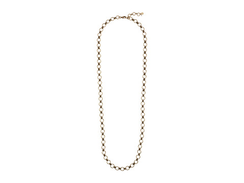 Lucky Brand - Gold Ring Toss Layer Necklace (Gold) Necklace