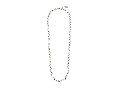 Lucky Brand - Silver Ring Toss Layer Necklace (Silver) Necklace