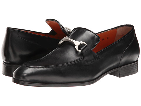 Santoni - Brandon (Black) Men's Shoes