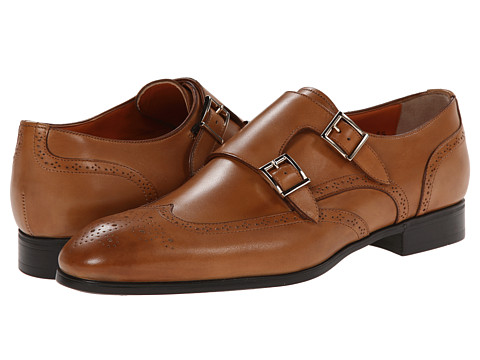Santoni - Belmont (Tan) Men's Shoes