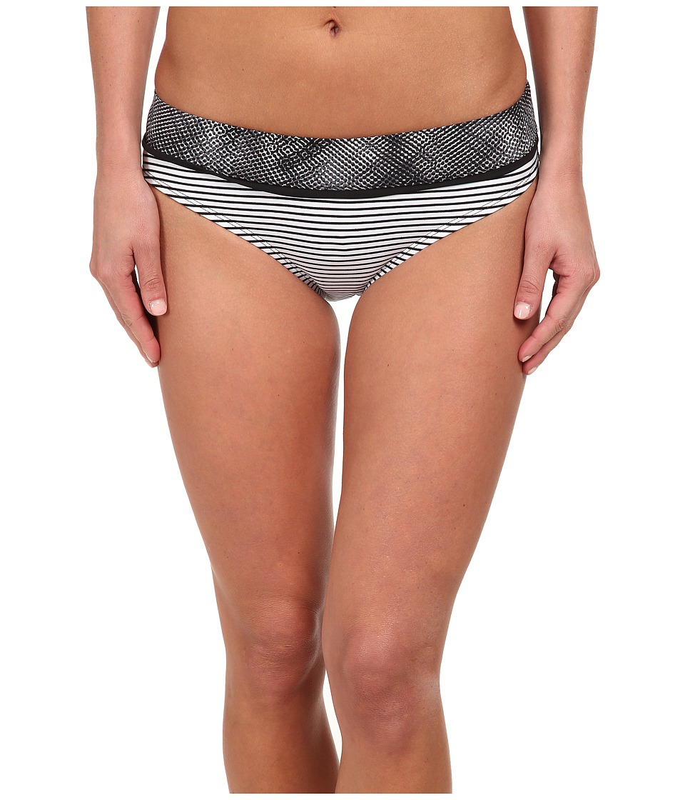 Soybu - Amalfi Band Bottom (Black Halftone) Women's Swimwear