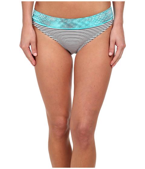 Soybu - Amalfi Band Bottom (Blue Halftone) Women's Swimwear