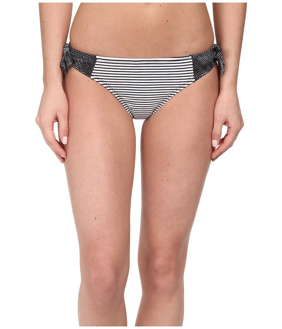 Soybu - St. Lucia Tie Bottom (Black Halftone) Women's Swimwear