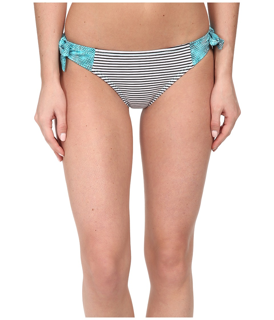 Soybu - St. Lucia Tie Bottom (Blue Halftone) Women's Swimwear