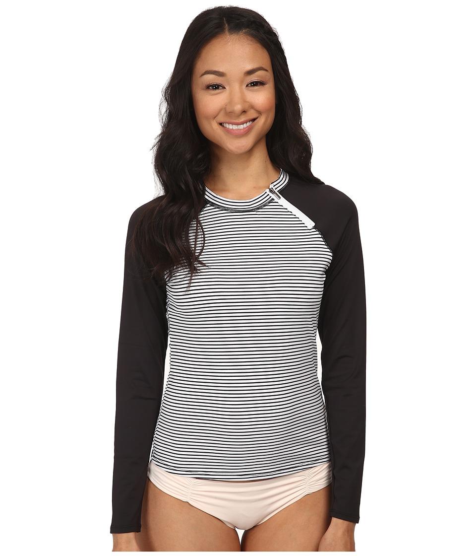 Soybu - Rosalie Rash Guard (Optic Stripe) Women's Swimwear