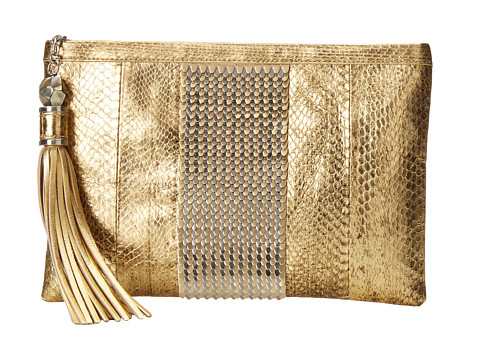 Rafe New York - Large Celia Clutch (Gold Leaf) Clutch Handbags