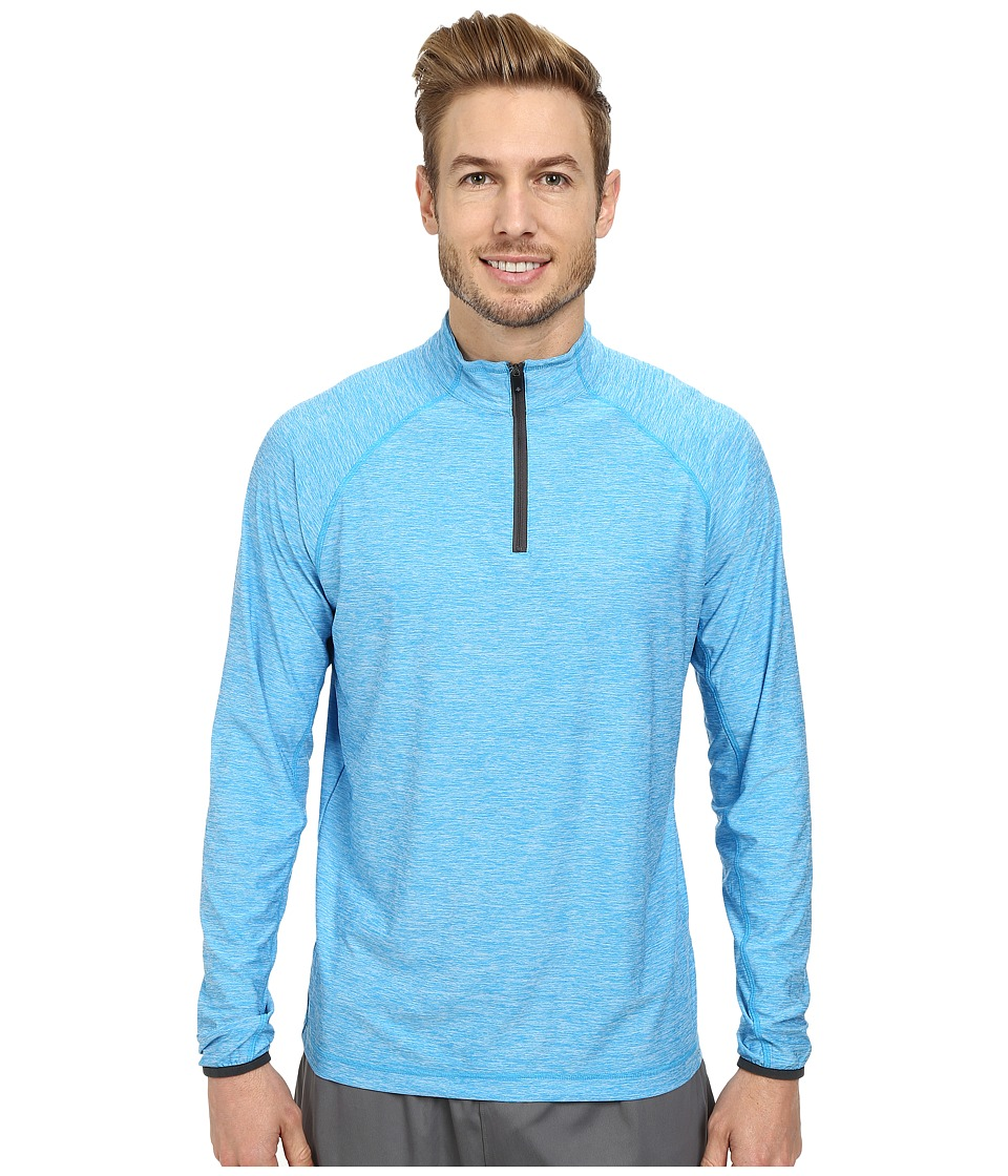 Soybu - Continuum 1/2 Zip (Belize) Men's Long Sleeve Pullover