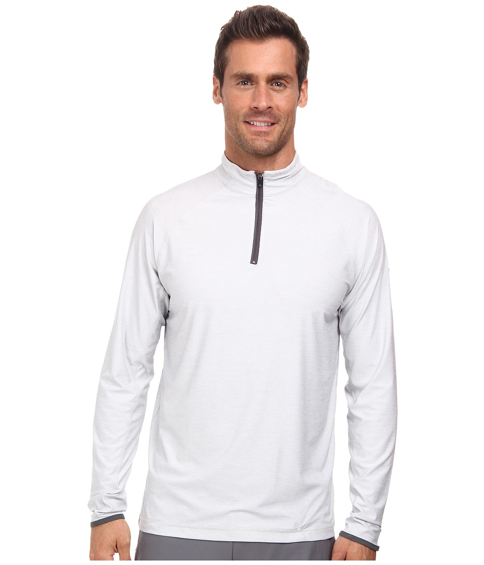 Soybu - Continuum 1/2 Zip (Nickel) Men's Long Sleeve Pullover