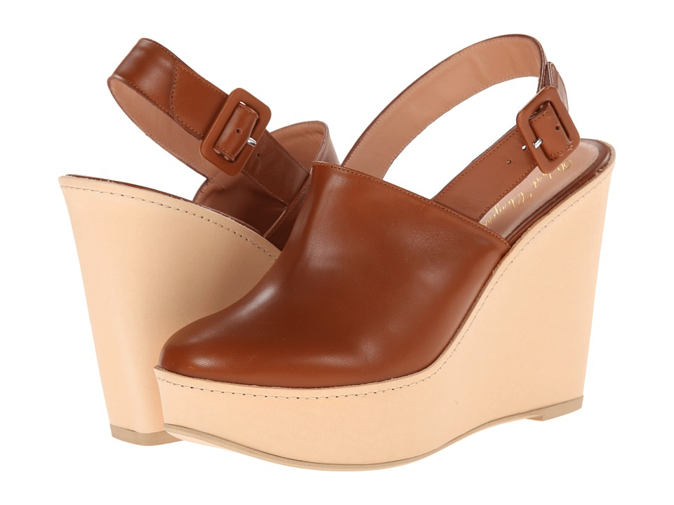 Robert Clergerie - French (Amber Calf) Women's Shoes
