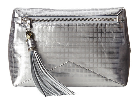 Rafe New York - Eva Clutch/Crossbody (Silver Screen) Cross Body Handbags