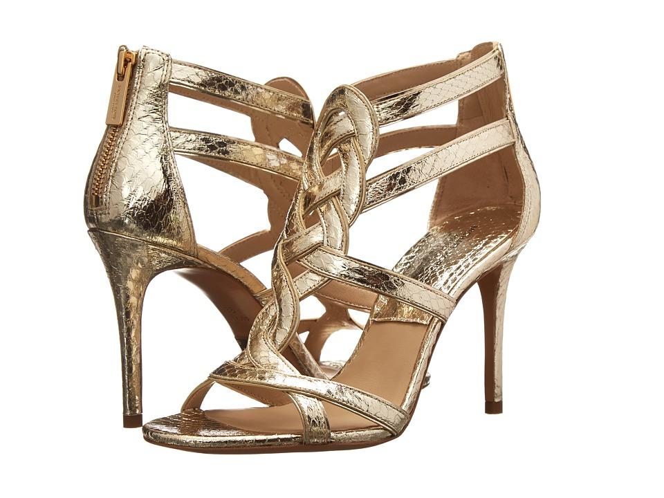 Michael Kors - Branson (Sunglow Specchio Genuine Snake/Specchio) High Heels