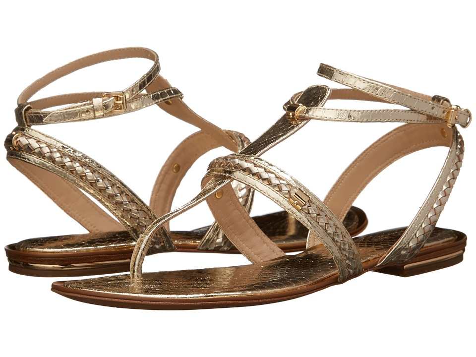 Michael Kors - Halden (Sunglow Specchio Genuine Snake/Specchio Braid) Women