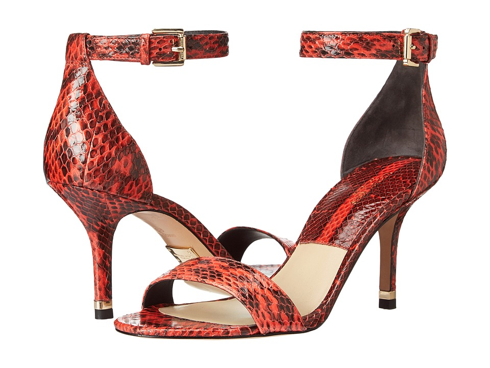 Michael Kors - Suri (Mandarin Genuine Snake) High Heels