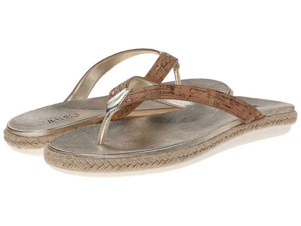 Vaneli - Bryce (Natural Cork) Women's Sandals