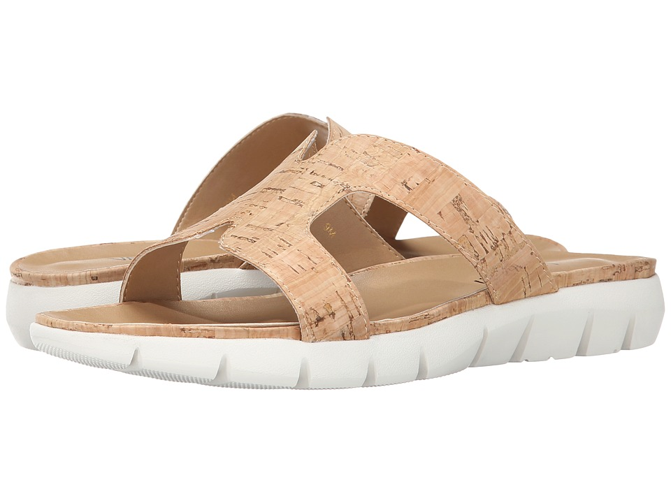 Vaneli - Keary (Natural Cork) Women's Sandals